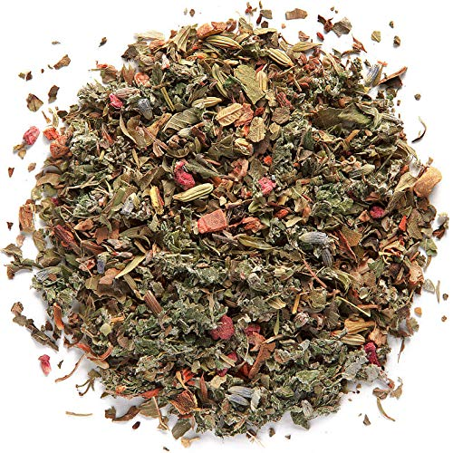 WITAL TEA RASPBERRY VERBENA LAVENDER - Himbeer Zitronenmelisse Tee - Aromatisierte Kräutertee Mischung - 17 Teebeutel - Zitronenverbene, Lavendel Und Thymian