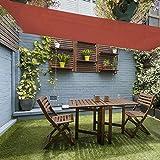 Coolaroo 3,9m x 2,1m Liebestauben X 7ft rechteckig Segel Sonnenverdeck Terrasse Markise
