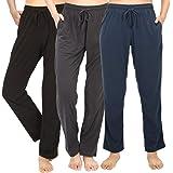 WEWINK PLUS Pajama Pants for Women Cotton Lounge Bottoms Soft Casual Sleep PJ