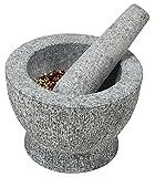 Kesper 71502 Mörser mit Schlegel Granit 18 x 12 cm