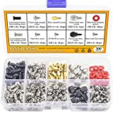 Pingranso 300PCS Personal Computer Screw Standoffs Set Kit...