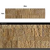 ascountrystone WANDVERKLEIDUNG AUS ECHTEM Stein: Paneele aus Dünnschiefer | Wandverblender | Wandpaneele in Steinoptik (AS 2017)