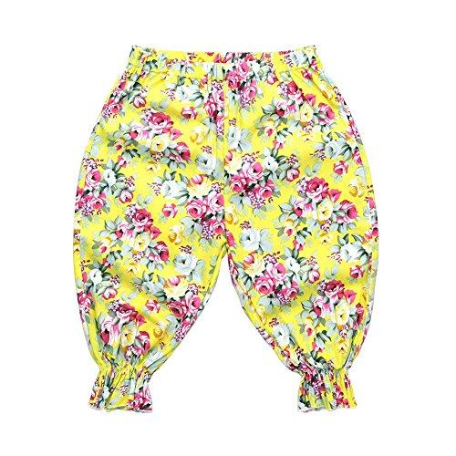 Niño Pantalones infantiles Pantalones linterna Foral