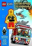 LEGO CITY Rätselspass Feuerwehr: mit LEGO Minifigur