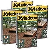 Xyladecor Gartenholz-Öl Natur natur dunkel 10l - Holzöl Holzschutzöl