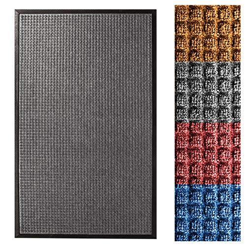 Casa Pura® Eingangsmatte | geprägt Fußmatte vorne | Innen und Außenbereich Eintrag Teppich | viele Farben & Größen (Teppich Eintrag)