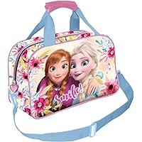 Karactermania Frozen Smile-bolsa De Deporte Borsa sportiva per bambini 38 centimeters Multicolore (Multicolor)