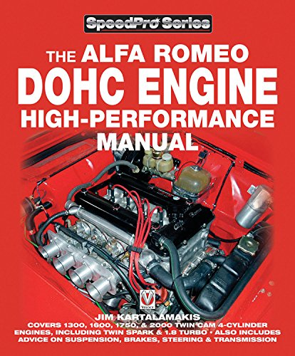 Alfa Romeo DOHC High-performance Manual (SpeedPro Series) por Jim Kartalamakis