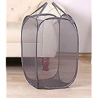 Kuber Industries Nylon Mesh Laundry Basket,30Ltr (Multi)-CTKTC21482, Standard