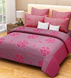 #1: Home Designs cotton reversible doublebed Dohar/quilt cover-90x90 with zip