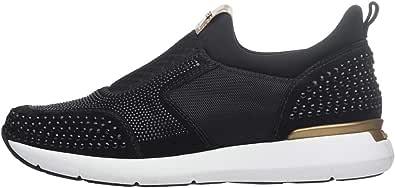Nero Giardini A806591D Sneakers Donna in Camoscio E Tessuto Tecnico