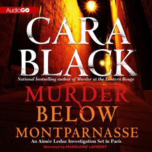 Murder Below Montparnasse  Audiolibri