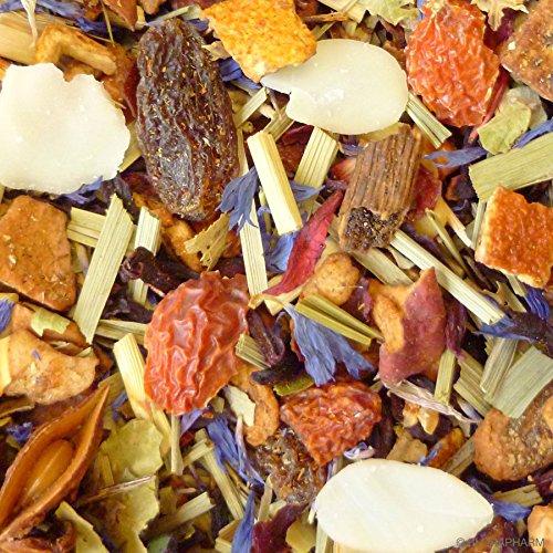 Kräutertee aromatisiert Winterkräutertee Nachfüllpack 500g mit Zimt-Vanille-Geschmack Lose