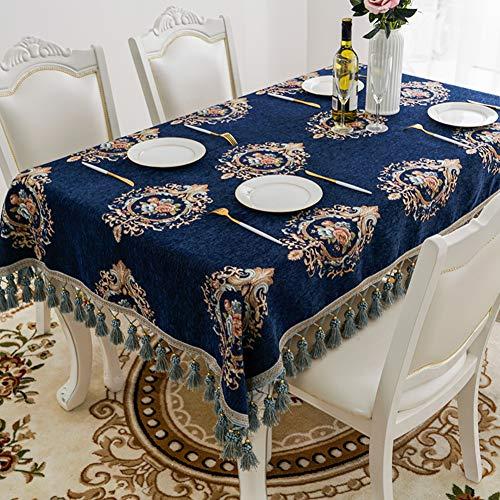 BATSDCB Quaste Stickmuster Tischdecken, Rechteck Tee tischdecke, Tabletop beschützer, Mit...