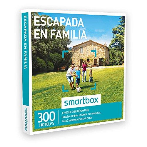 SMARTBOX – Caja Regalo – ESCAPADA EN FAMILIA – 300 hoteles rurales, haciendas, hoteles urbanos, hoteles con encanto