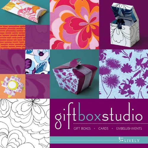 Gift Box Studio Lively: Gift Boxes - Cards - Embellishments (Library Box Card)