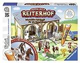 Ravensburger tiptoi Tier-Set Reiterhof - 00707 / Erkunde den Reitsstall und kümmere dich eigenständig um die Pferde