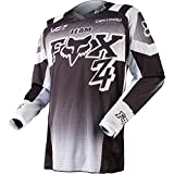 Fox Black White 2015 180 Imperial Y Kids MX Jersey