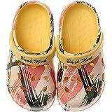 Nasogetch Zuecos Niños Niñas Clogs Zapatillas Zapatos de jardín Mulas Sandalias Verano Piscina Antideslizante y cómodo