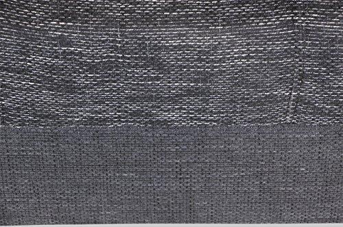 Sofa Bigsofa Loop - Schwarz - Webstoff Schwarz - 4