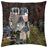 Castle Eltz in Germany - Throw Pillow Cover Case (18