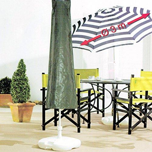 Schutzhülle für Sonnenschirme Gartenschirm Strandschirm bis 3 Meter Durchmesser