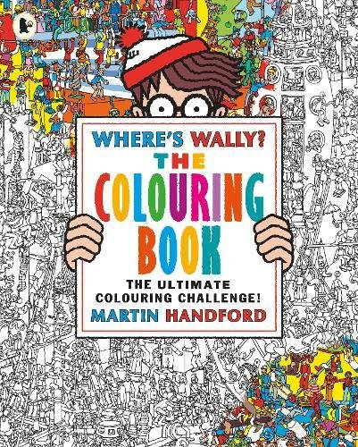 Where's Wally? The Colouring Book