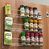 3 Tier Kitchen Spice Rack To Suit 300-500mm Wide Door (To Suit 400mm Door)