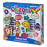 CRA-Z-ART Gels Set decoración, 8 Botes Gel de Colores y 40 Adhesivos (ColorBaby 43922)