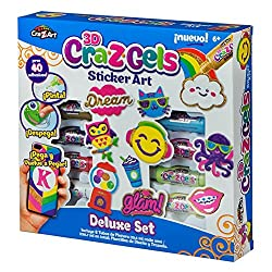 Cra-z-gels 12733 Deluxe Sticker Set