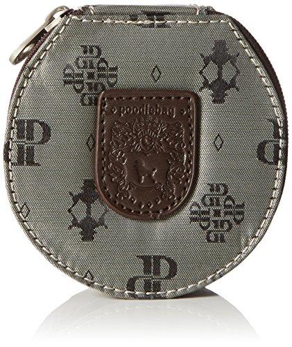 poodlebag Damen Club-United-Jewel Box Kosmetiktaschen, Braun (Marron), 11x11x5 cm (Schmuck-box Monogramm)