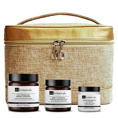 Dr Botanicals KDBRBETAO - Serum super concentrado brillo natural, terapia para ojos avanzada revitalizante, crema hidratante de día anti-oxidante brillo natural