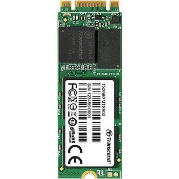 Transcend MTS600 M.2 SSD 256GB SATA III, MLC