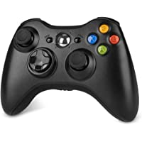 geneic Joypad sans fil pour console Xbox 360 Bluetooth, manette de chargement USB