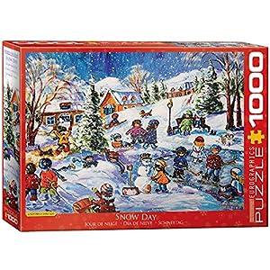 Eurographics 6000-5333 - Puzle para Jugar al día de la Nieve