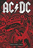 new Officially Liscenced Product AC/DC Flagge Fahne Rock 'N' Roll Train