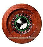 Dal Negro Montecarlo 50cm Mahogany Roulette Wheel (Quadratto)