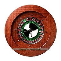 Dal-Negro-Montecarlo-50cm-Mahogany-Roulette-Wheel-Quadratto