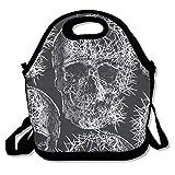 Search : Skull-For School Work Office Lightweight Handbag