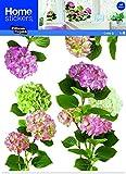 Fenstersticker XXL Hortensie rosa