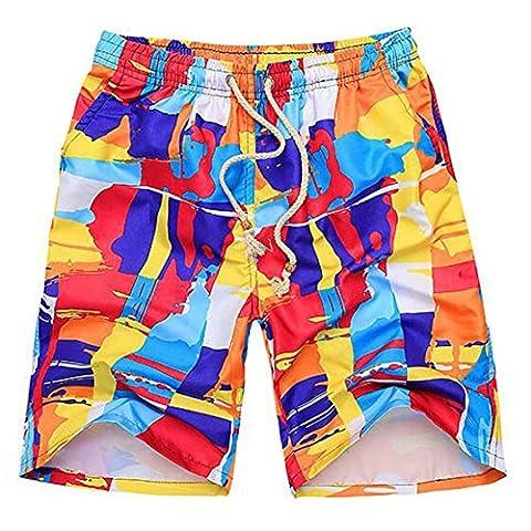 O-C Mens'beach shorts youth summer beach pants X-Large