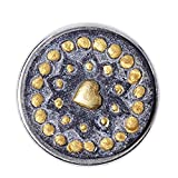 Noosa Chunk Milagro grey/gold stone