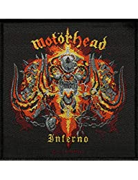MOTÖRHEAD écusson iNFERNO patch tissé 10 x 10 cm
