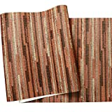 ADDFLOWER Retro Nostalgic Personality Straw Wood Grain Wallpaper Bar Ristorante Coffee Shop Negozio di abbigliamento Industrial Wind Wallpaper, C