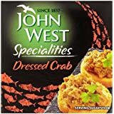 John West 43g Cangrejo Dispuesta (Paquete de 6)