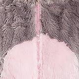 Kostümplanet® Maus-Kostüm Damen Overall weich Mäuschen Damen-Kostüm Größe 46/48 -