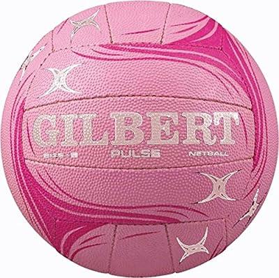 GILBERT Netball deportes de equipo de goma superficie pulso Match calidad balón verde/azul