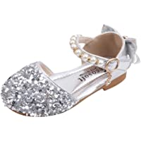 Scarpe da Ragazza Glitter Glitter Tacco Basso Sandali Bambina Sandalo Bambino Eleganti Scarpe Bimba Estive Scarpe da…