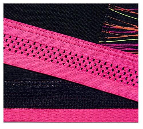 Nike Pro Fierce Acceleratr soutien-gorge de sport femme Rosa (Hyper Pink / Black / Hyper Pink / White)
