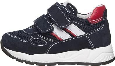 Nero Giardini E023830M Sneakers Kids da Bambino in Pelle, Camoscio E Tela